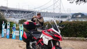 【本店】バイク挑戦状?!ぜひ1日1個限定のあわじ島前略、道の駅バーガーをゲットしよう!!