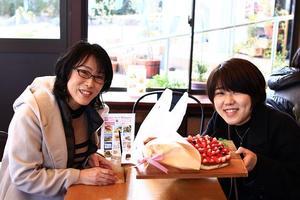 【本店】あわじ島バレンタインdeバーガー第一号!