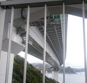橋の下からの景色!